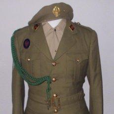 Militaria: UNIFORME DE ALFEREZ DE LA IMEC, REG. DE INF. MOTORIZABLE TETUAN Nº 14, AÑOS 70/80. Lote 110102155