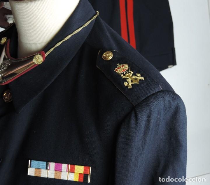 Militaria: Uniforme de comandante de Infantería de marina, Chaqueta, Gola, cinturon, gorra, pantalón, placa de - Foto 6 - 110193351