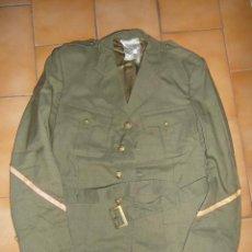 Militaria: UNIFORME TRAJE MILITAR CABO 1º EJERCITO DE TIERRA. PANTALON TALLA 48-78. CHAQUETA TALLA 48-72. Lote 110493735