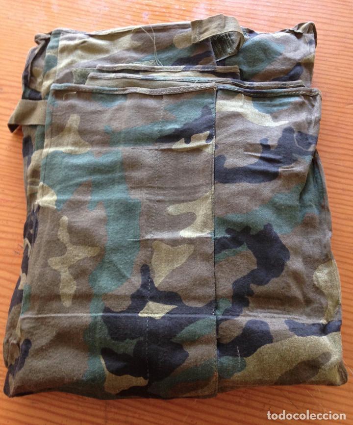 Militaria: TRAJE NBQ. EJERCITO ESPAÑOL. TALLA G. CADUCADO SIN USO. 1996 - Foto 2 - 111878647