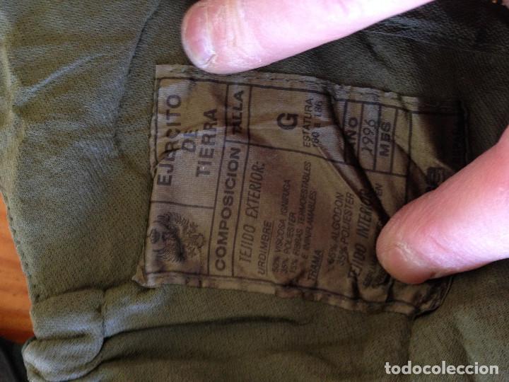 Militaria: TRAJE NBQ. EJERCITO ESPAÑOL. TALLA G. CADUCADO SIN USO. 1996 - Foto 3 - 111878647
