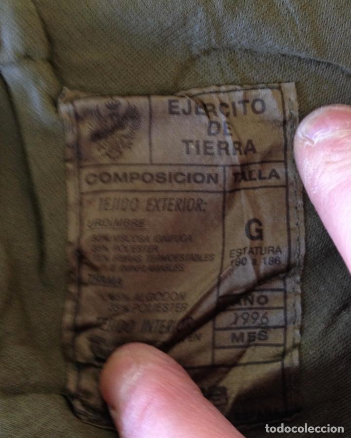 Militaria: TRAJE NBQ. EJERCITO ESPAÑOL. TALLA G. CADUCADO SIN USO. 1996 - Foto 4 - 111878647