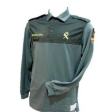 Militaria: CAMISA GUARDIA CIVIL MANGA LARGA TALLA XL. Lote 112657607