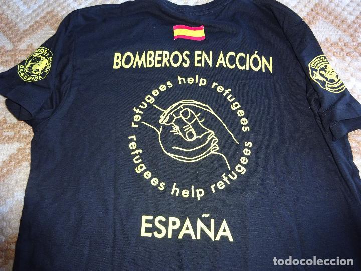 9250d74c84ed4 Camiseta ong bomberos en acción ayuda al refugi - Vendido en Venta ...