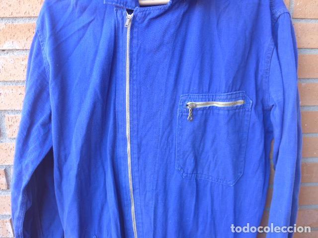 Militaria: * Antiguo mono azul, ideal para recreacion de miliciano de Guerra civil. ZX - Foto 4 - 116205623