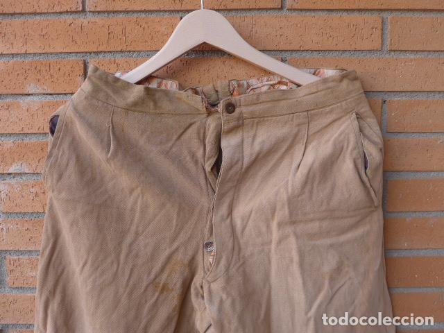 Militaria: * Antiguo pantalon tipo noruego republicano original de guerra civil. Pantalones. ZX - Foto 2 - 116208603