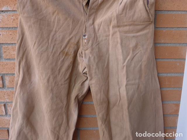 Militaria: * Antiguo pantalon tipo noruego republicano original de guerra civil. Pantalones. ZX - Foto 3 - 116208603