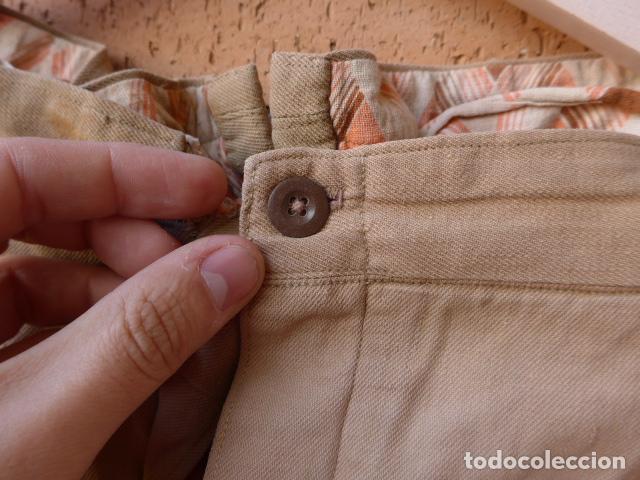 Militaria: * Antiguo pantalon tipo noruego republicano original de guerra civil. Pantalones. ZX - Foto 5 - 116208603