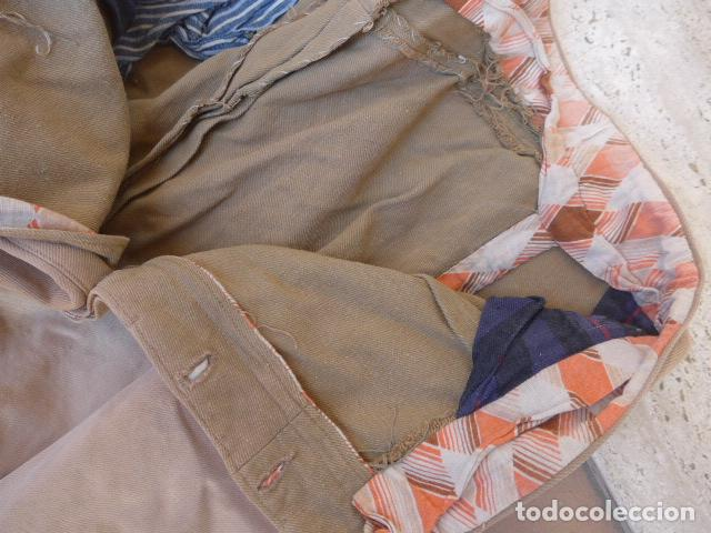 Militaria: * Antiguo pantalon tipo noruego republicano original de guerra civil. Pantalones. ZX - Foto 21 - 116208603