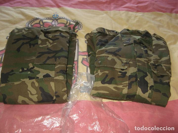 Militaria: UNIFORME ACOLCHADO PARA FRIO TALLA 1L - Foto 3 - 116612563