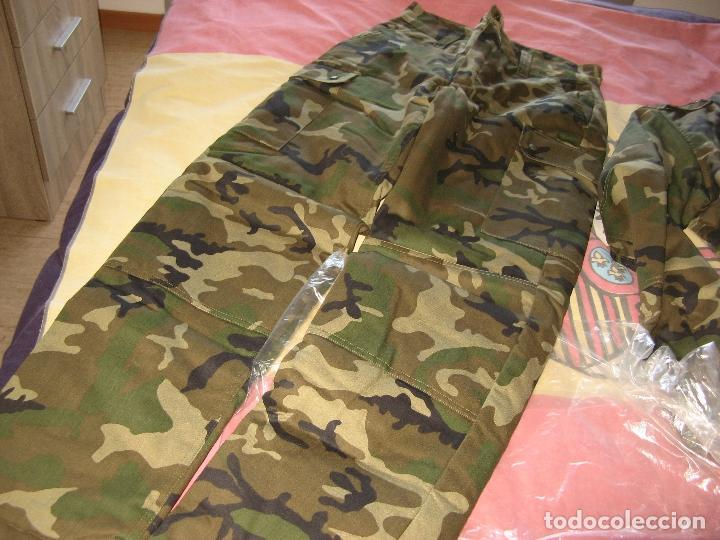 Militaria: UNIFORME ACOLCHADO PARA FRIO TALLA 1L - Foto 4 - 116612563