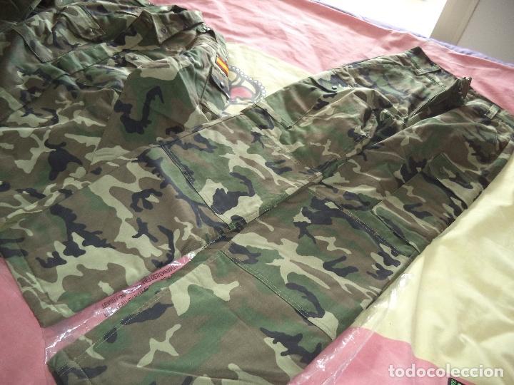 Militaria: UNIFORME ACOLCHADO PARA FRIO TALLA 1L - Foto 5 - 116619147