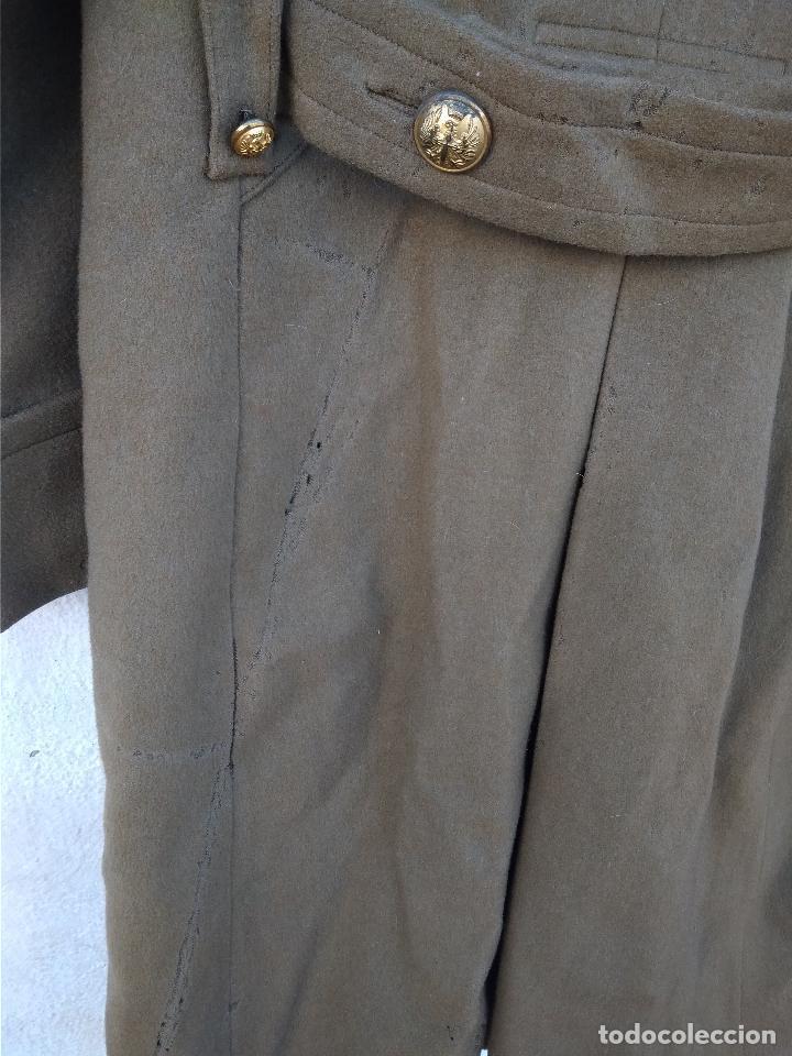 Militaria: Abrigo de capitán de caballería época de franco - Foto 4 - 116768575
