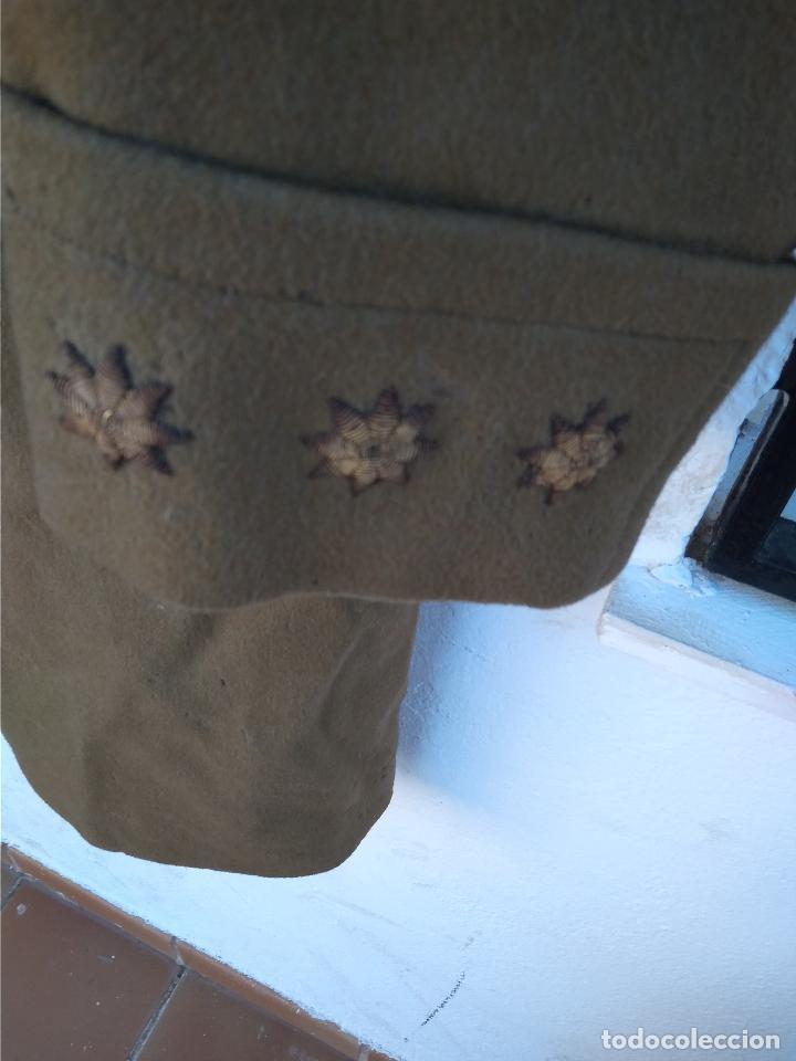 Militaria: Abrigo de capitán de caballería época de franco - Foto 5 - 116768575