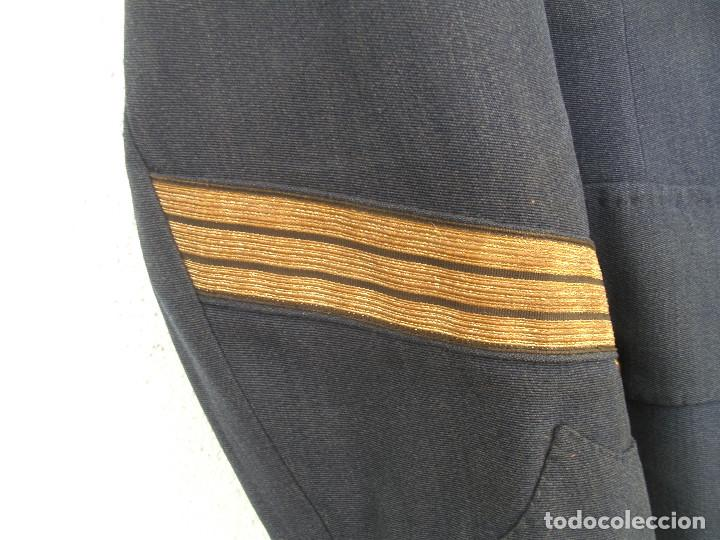 Militaria: GUERRERA DE SARGENTO DE AVIACIÓN, CHAQUETA EJÉRCITO DEL AIRE, REGLAMENTO 1946, 50 CMS ENTRE COSTURAS - Foto 5 - 116783247