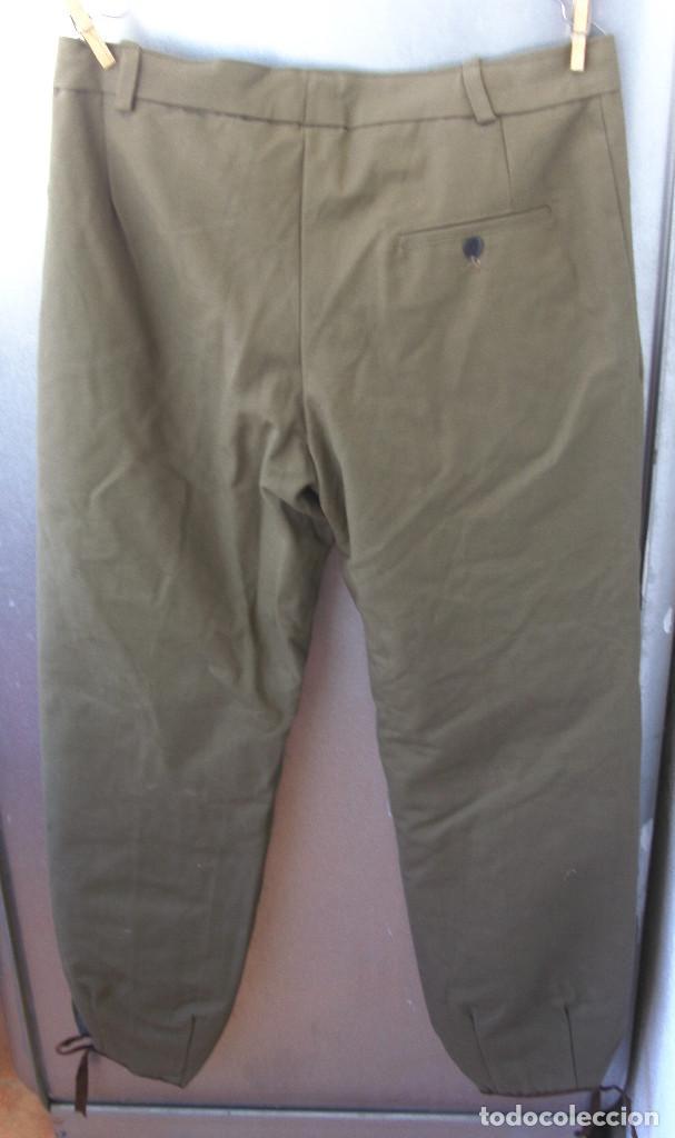 Militaria: Pantalón tipo noruego con forro de invierno.Pantalones 44 cms de cintura 105 cms largo.¿Montaña? - Foto 3 - 116783899