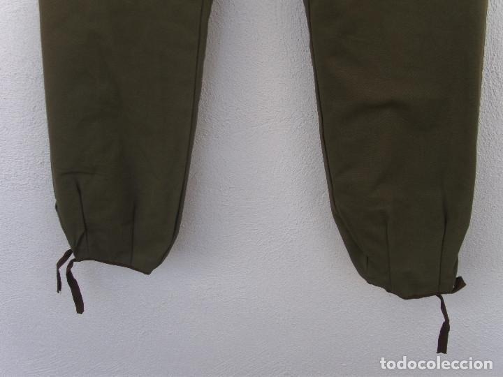 Militaria: Pantalón tipo noruego con forro de invierno.Pantalones 44 cms de cintura 105 cms largo.¿Montaña? - Foto 4 - 116783899