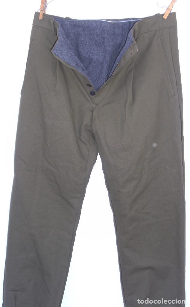 Militaria: Pantalón tipo noruego con forro de invierno.Pantalones 44 cms de cintura 105 cms largo.¿Montaña? - Foto 5 - 116783899