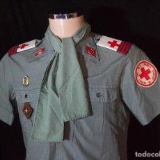 Militaria: CAMISA, CABO SOCORRISTA, ÉPOCA FRANQUISTA. Lote 117378935