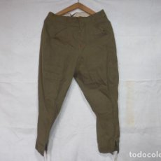 Militaria: ANTIGUO PANTALON BRECHES ORIGINAL, GUERRA CIVIL Y AÑOS 40. PANTALONES DE MONTAR.. Lote 117725327