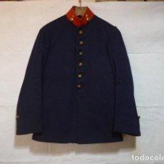 Militaria: ANTIGUA GUERRERA DE ARTILLERIA DE ALFONSO XIII, ORIGINAL. ALFONSINA. . Lote 123640796