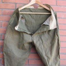 Militaria: BREECHES, PANTALON GRANADERO TROPA, REGLAMENTO 1920, AÑOS 20, 30 Y GUERRA CIVIL ESPAÑOLA 1936/1939.. Lote 118293239