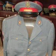 Militaria: UNIFORME GUERRERA Y PANTALÓN DE CABO 1º DE LA POLICÍA ARMADA (GRISES). Lote 119465683