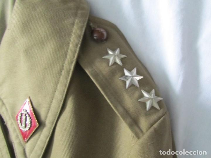 Militaria: Gabardina de Capitán Judicial Ejército de Tierra - Foto 7 - 119468415