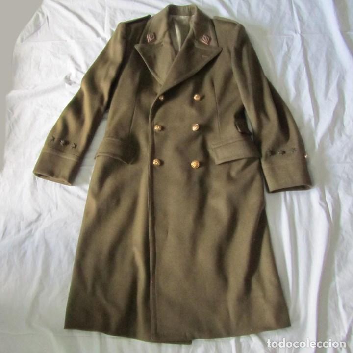 Militaria: Abrigo de Capitán Judicial Ejército de Tierra - Foto 2 - 119468639