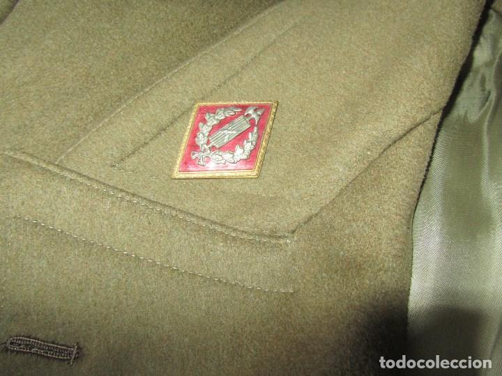 Militaria: Abrigo de Capitán Judicial Ejército de Tierra - Foto 4 - 119468639