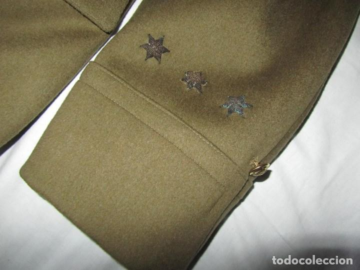 Militaria: Abrigo de Capitán Judicial Ejército de Tierra - Foto 7 - 119468639