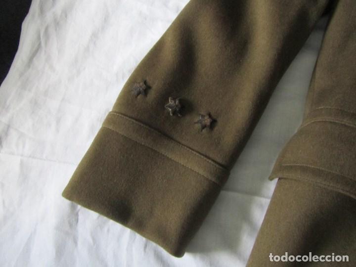 Militaria: Abrigo de Capitán Judicial Ejército de Tierra - Foto 8 - 119468639