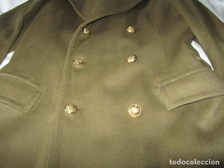 Militaria: Abrigo de Capitán Judicial Ejército de Tierra - Foto 10 - 119468639