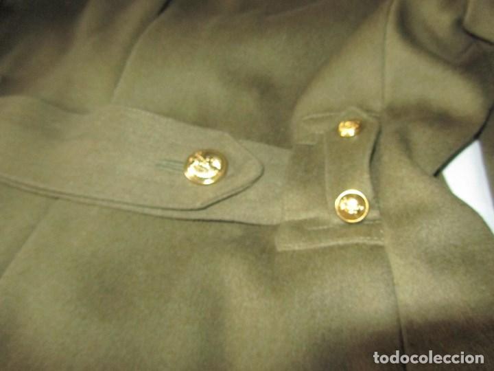 Militaria: Abrigo de Capitán Judicial Ejército de Tierra - Foto 14 - 119468639