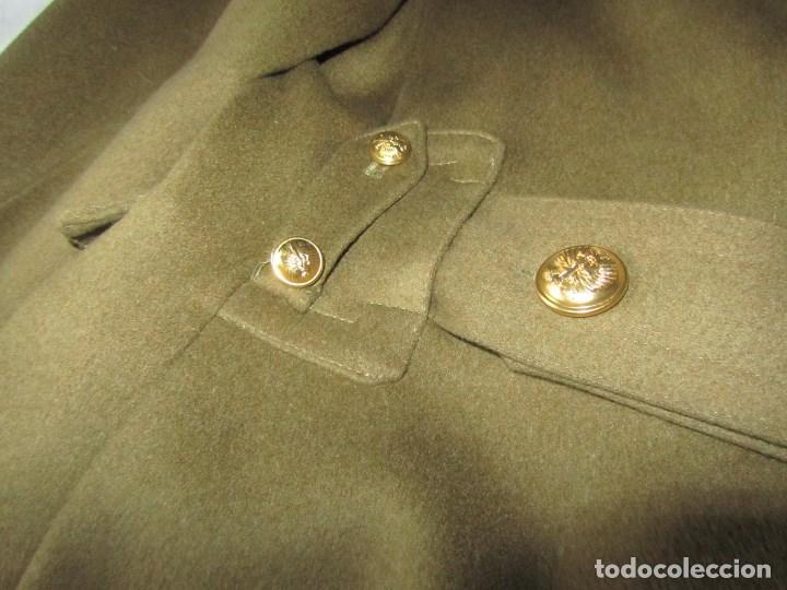 Militaria: Abrigo de Capitán Judicial Ejército de Tierra - Foto 15 - 119468639