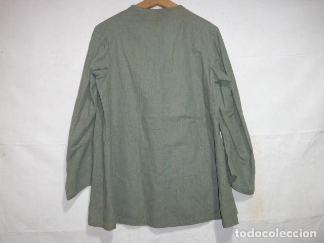 Militaria: Antigua guerrera fina o camisa de mehal.la jalifiana, mehala. guerra civil o anterior, africa. - Foto 9 - 119993287