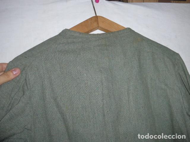 Militaria: Antigua guerrera fina o camisa de mehal.la jalifiana, mehala. guerra civil o anterior, africa. - Foto 10 - 119993287