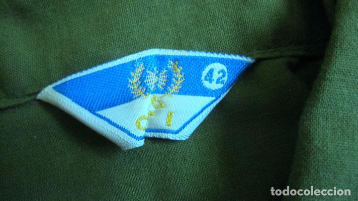 Militaria: ANTIGUA CAMISA COMBATE VERDE E.T. ESPAÑA,.NUEVO SIN USO - Foto 2 - 120020827