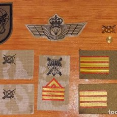 Militaria: LOTE PARCHES DE PECHO BRIPAC....ROKISKI ARIDO.... Lote 120252463
