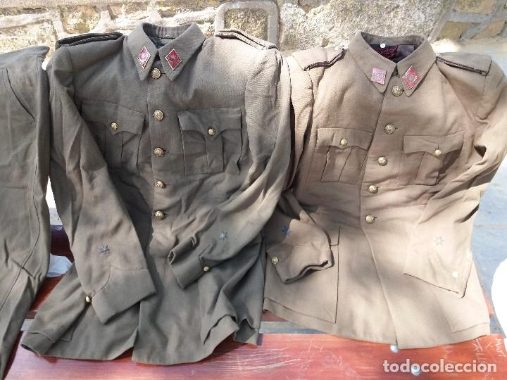 Militaria: uniforme español de capitan - Foto 2 - 121620463