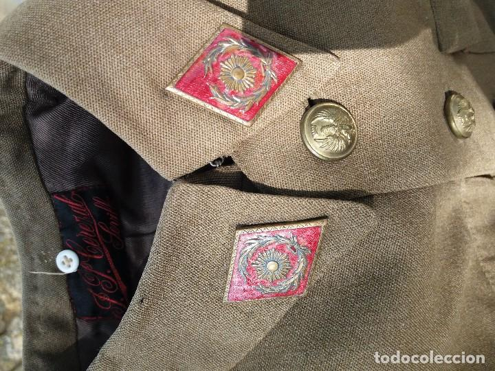 Militaria: uniforme español de capitan - Foto 5 - 121620463