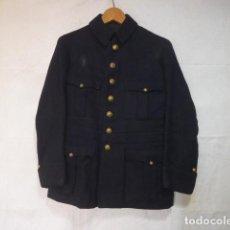 Militaria: ANTIGUA RARA GUERRERA DEL CUERPO DE BOMBEROS DE BARCELONA, PRINCIPIOS S.XX, ORIGINAL.. Lote 122678399