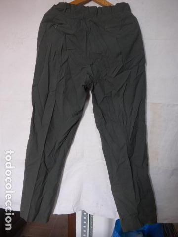 Militaria: Antiguo pantalon recto a identificar, color tipo guardia civil. Original, pantalones. - Foto 5 - 123506815