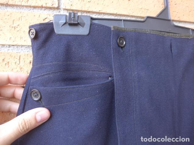 Militaria: * Antiguo y raro pantalon español de siglo XIX, original. ZX - Foto 3 - 125825043