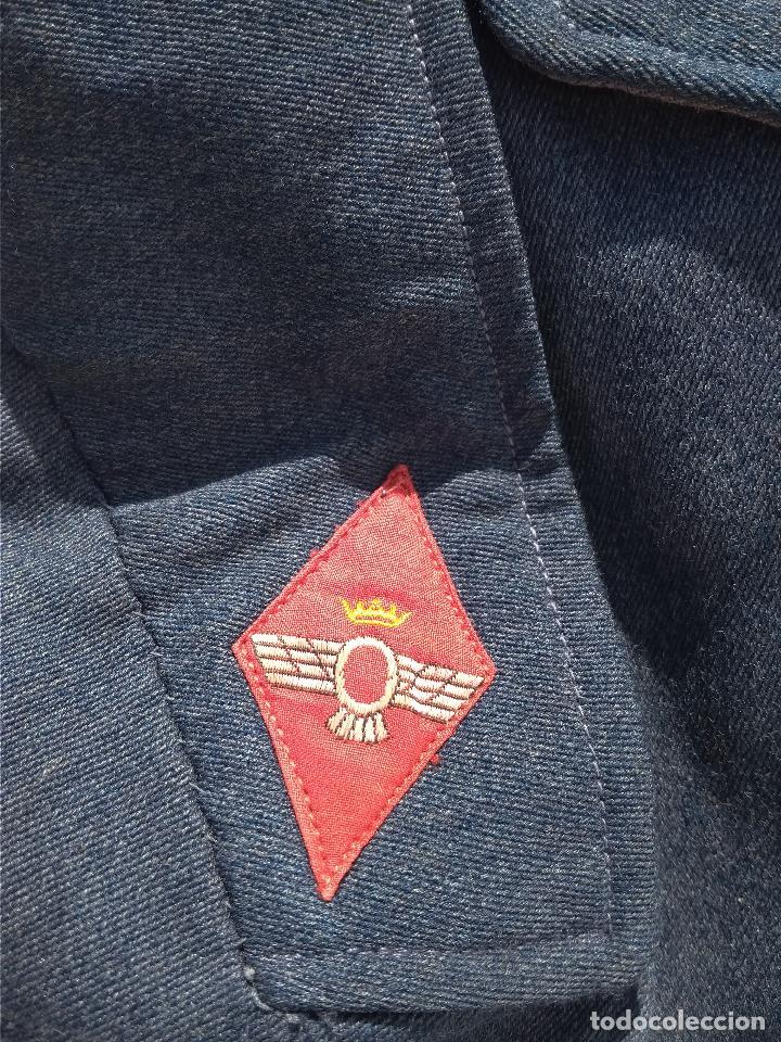 Militaria: Chaqueta corta de ejército del aire + gorrillo - Foto 10 - 127538095