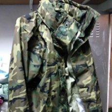 Militaria: CHUBASQUERO TRES CUARTOS PARTE SUPERIOR TRAJE INTEMPERIE TALLA 5, NUEVO SOLO TIENES EL NOMBRE DEL P. Lote 139920954