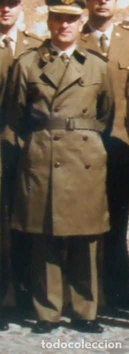 Militaria: EJERCITO ESPAÑOL. ANTIGUO CHAQUETON TRES CUARTOS. PARA OFICIAL Y SUBOFICIAL. IMPECABLE ESTADO - Foto 11 - 128535207