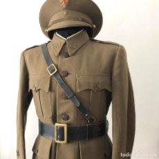 Militaria: UNIFORME DE ALFÉREZ ÉPOCA GUERRA CIVIL O REPÚBLICA FECHADO EN 1938. GUERRERA Y PANTALÓN. Lote 128940023
