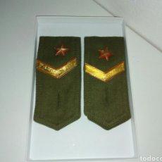Militaria: HOMBRERAS MILITAR. Lote 130857015
