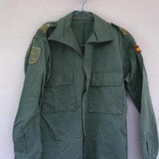 Militaria: CHUPITA LEGIÓN. CAMISOLA IV BANDERA TERCIO, ABIERTA HASTA ABAJO, 47 CMS ENTRE HOMBROS.. Lote 131047528